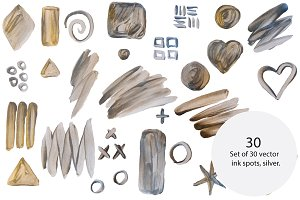 Vector smears, silver