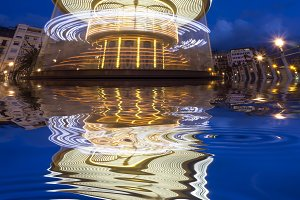 Carousel reflections