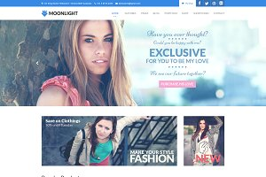 Moonlight - PSD Template WP/Commerce