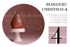 Bloggers' Christmas 4 (pink pear)