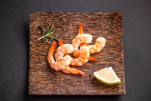 Shrimps or prawns