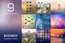 9 business infographics