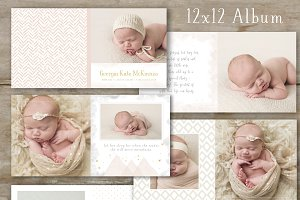 Photo Book Template - Baby Album