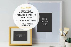 Artist Series Framed Print Mockup #8