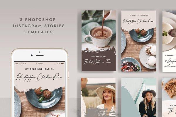 Instagram Storyies for Blogger IN003