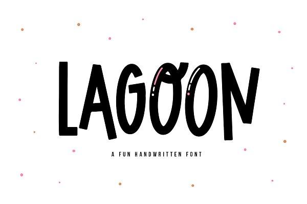 Lagoon | Quirky Handwritten Font
