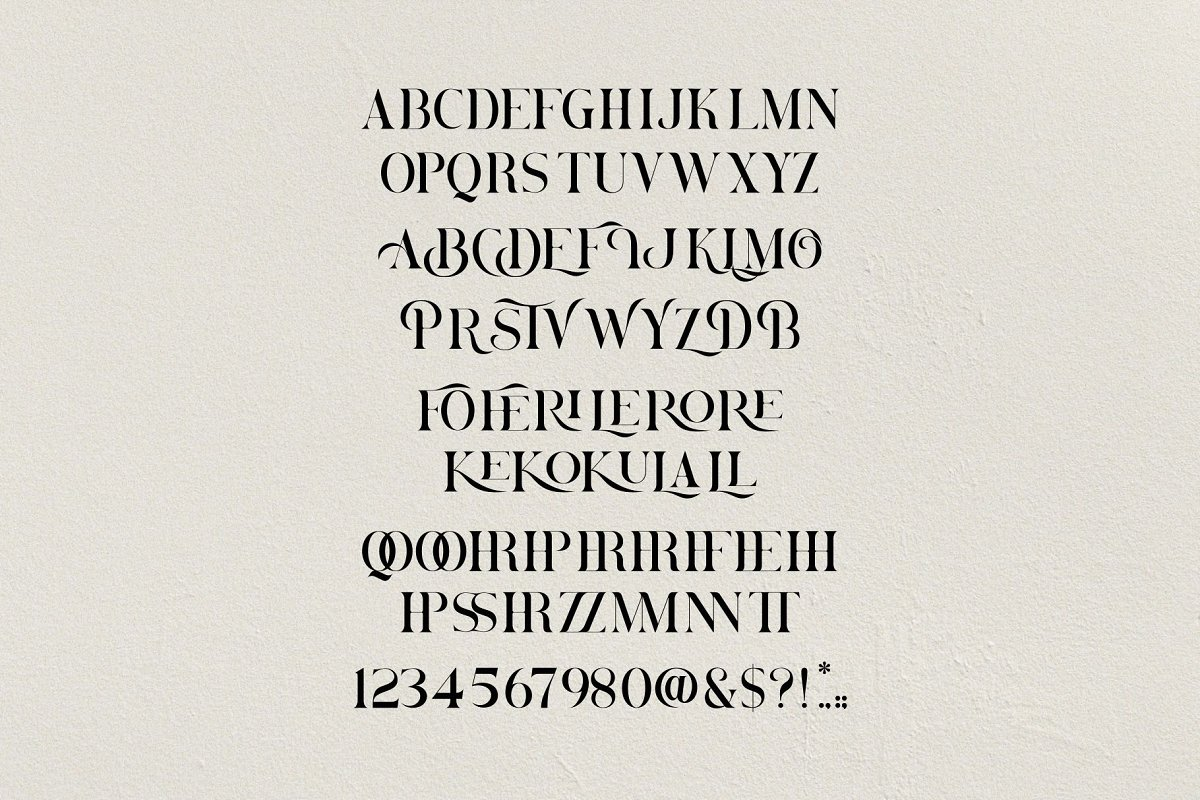 Brovile. A Classy Serif in Serif Fonts - product preview 10