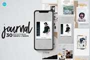 Journal Stories and Post | Canva