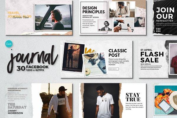 Journal Facebook | Canva