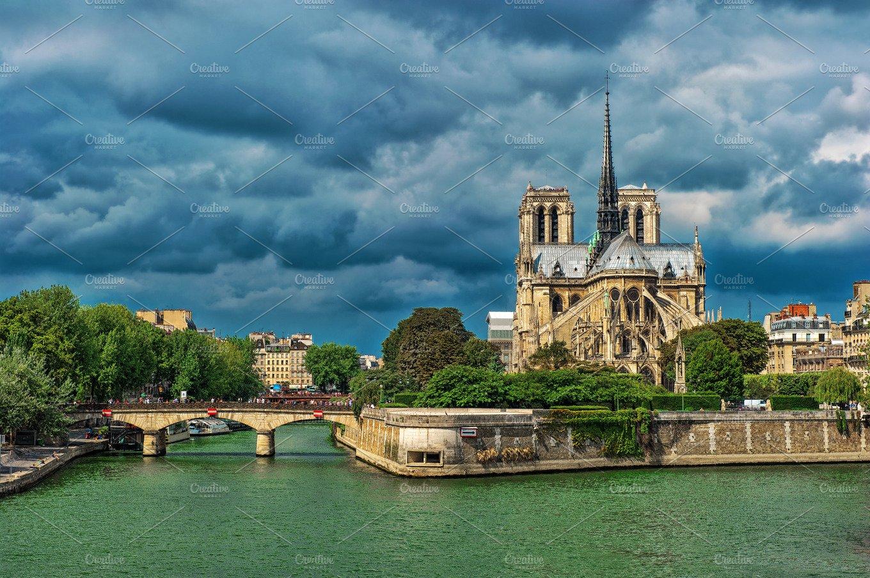 Notre Dame De Paris France Architecture Photos