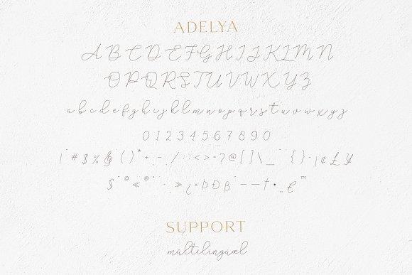 Gamour - Elegant Serif Font + Bonus in Serif Fonts - product preview 6