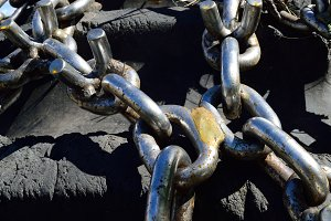 Studded Skidder Tire Chains