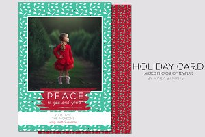 Holiday Card Template - Xmas