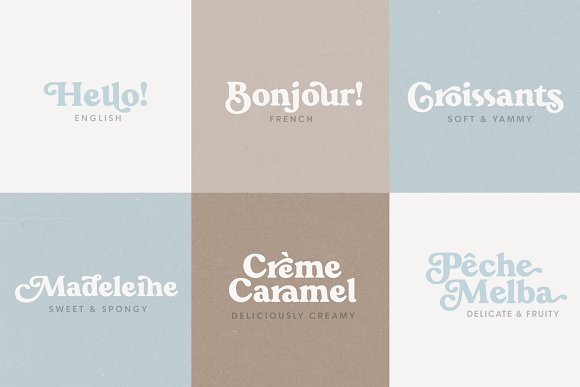 Praline Font Family in Serif Fonts - product preview 1