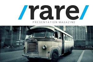 Rare Magazine PowerPoint