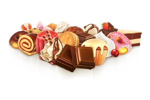 Confectionery illustration