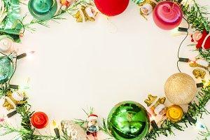 Christmas image white background