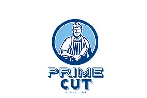 Prime Cut Butcher Logo