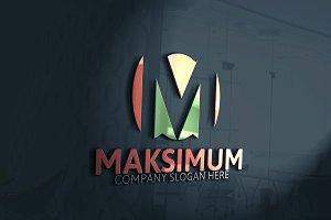 Maksimum / Letter M Logo