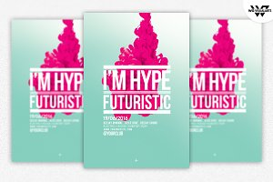 MINIMAL HYPE ABSTRACT Flyer Template