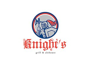 Knight Grill and Alehouse Logo
