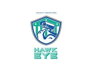 Hawk Eye Security Contractors Logo