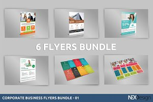 Business Flyers Bundle nex sas