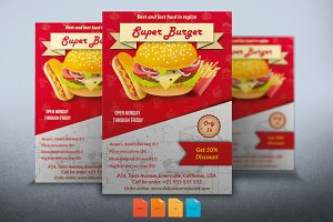 Super Burger Flyer