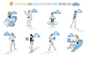 Summer and Cloud Computing People