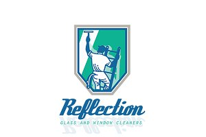 Reflection Glass and Window Cleaner