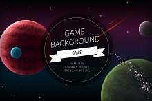 Space Game Background