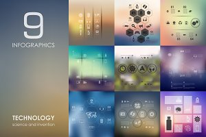 9 technology infographics