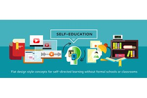 Self-education Concept