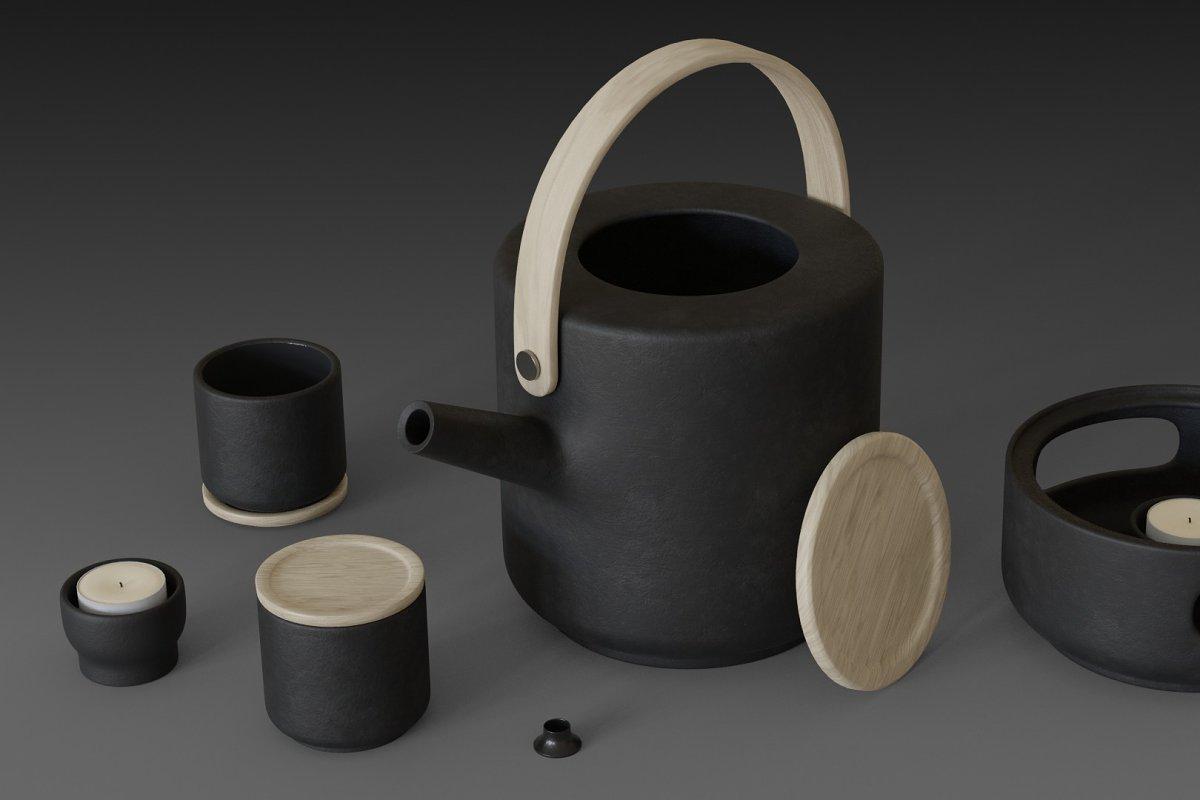 Theo teapot from Stelton