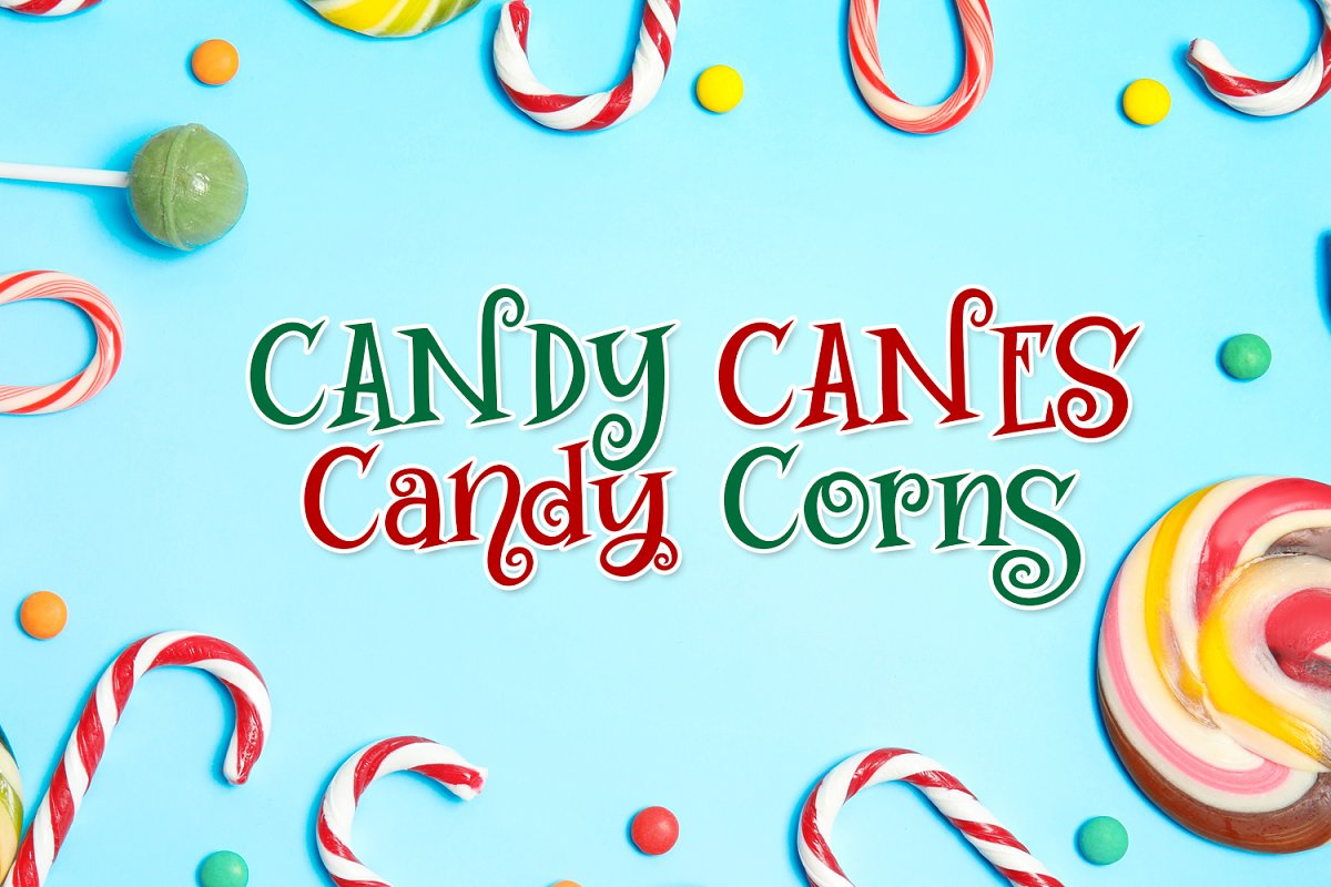 Swirly Twirly Gumdrops Font in Serif Fonts - product preview 5