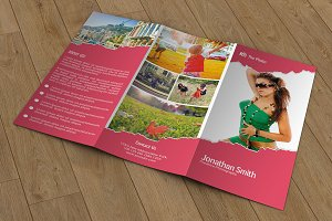 Trifold Photography Brochure-V255