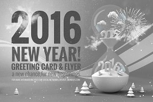 New Year Poster & Card