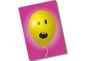 Surprise ballon