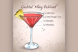 Cocktail Mary Pickford