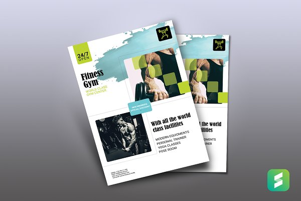 Feet For Life GYM Flyer Template