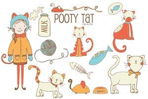 Pooty Tat .PNG Clip Art Set