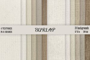 Burlap Background Pack