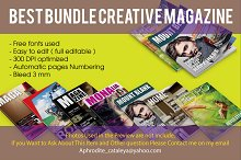 Best Bundle Magazine Template