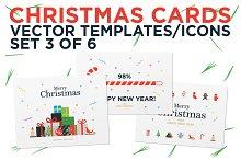 Christmas Cards / Set 3 of 6