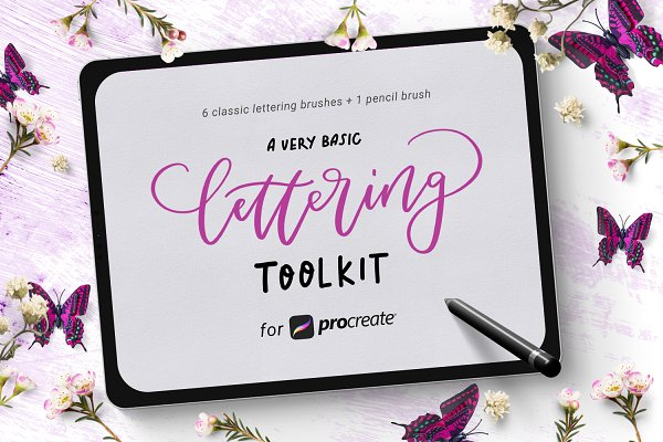 Basic Lettering Toolkit forProcreate