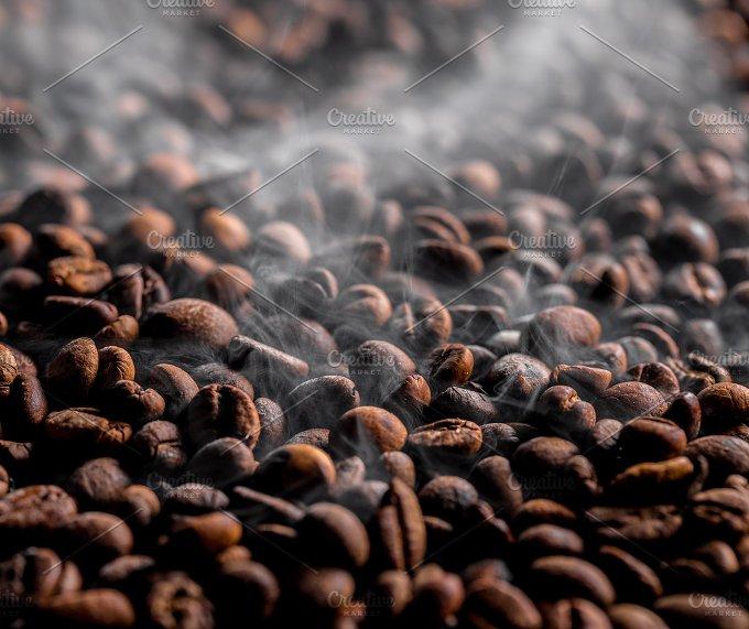 Fried coffee beans - Food & Drink