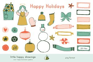 Happy Holidays | Clip Art