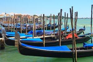 Venice traditional boats