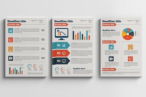 Business Plan A Flyer Brochure Flyer Templates Creative Market - Brochure flyer templates