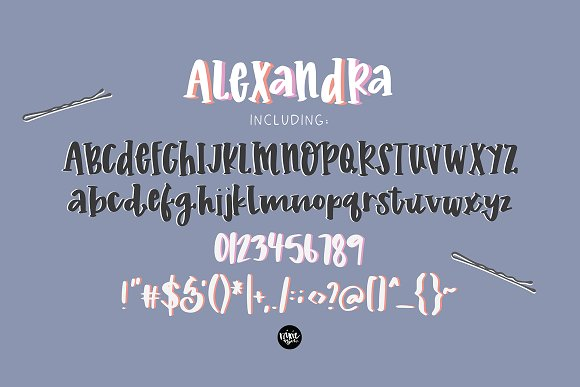 ALEXANDRA a Hand Lettered Serif Font in Serif Fonts - product preview 4